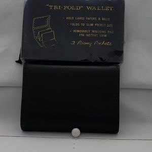 Other - Wallet Leather Black